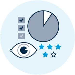 Continuous improvement icon